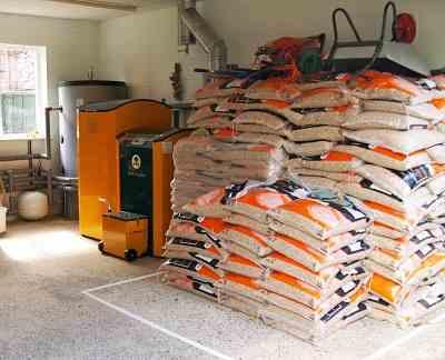 skladiščenje peletov